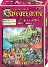 L'extension du jeu de Carcassonne Bazar, ponts et forteresses