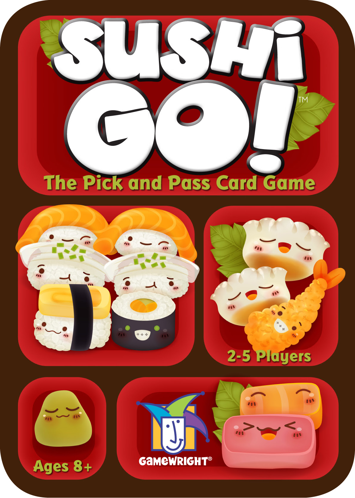 how to play sushi go party