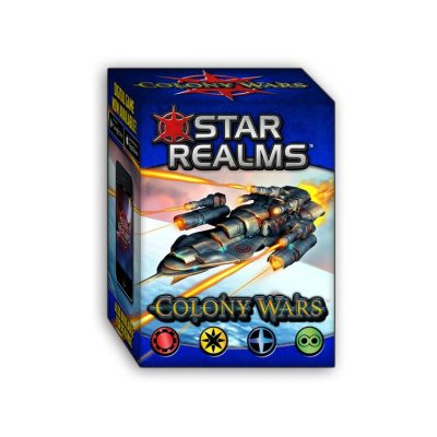 Boîte du jeu Star Realms Colony Wars